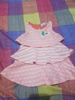 Crib couture dress