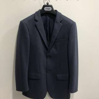 Topman Navy Blue Blazer / Suit Jacket