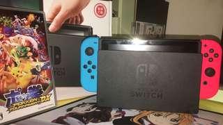 Nintendo Switch + Poke 拳 (Game)