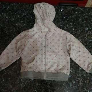 Jaket bayi sampai 2 thn size M