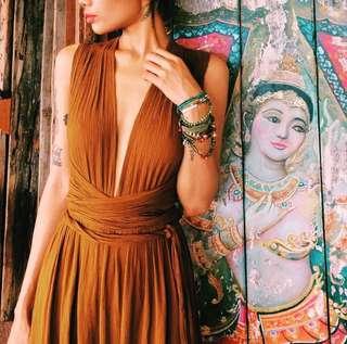 Multiway bohemian dress