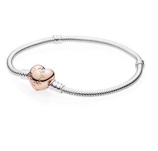 Pandora Bracelet Rose Heart