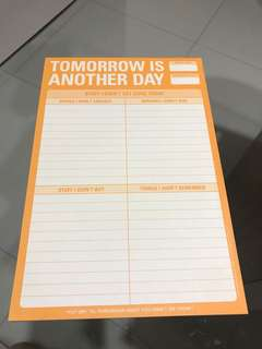 Cute to-do list notepad