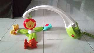 Decoratations for baby bed