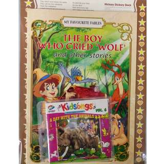 The Boy Who Cried Wolf And Other Stories + Kidsongs A Day With The Animals Vol.6 VCD