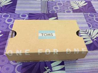 (REDUCED PRICES) ORIGINAL TOMS BABY BOY SHOES