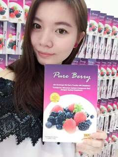 Detox Fibre Slimming Drinks 🍓 Pure Berry Enzyme 100% Natural Ingredients