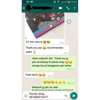 Testimoni Panda Shop Trusted Onlineshop