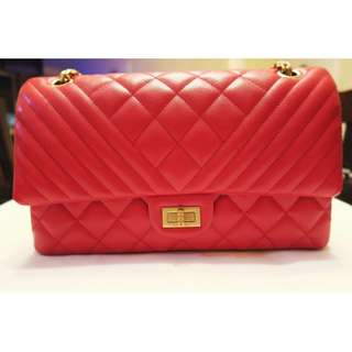 Chanel 2.55 Bi-Quilted Reissue Flap 28cm