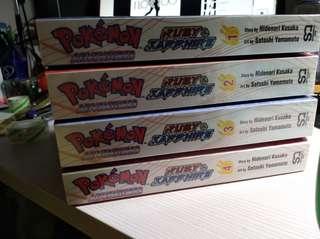 Pokemon Adventures Ruby & Sapphire
