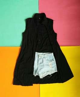 Black Longback Blouses