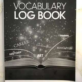 English Vocabulary Log Book