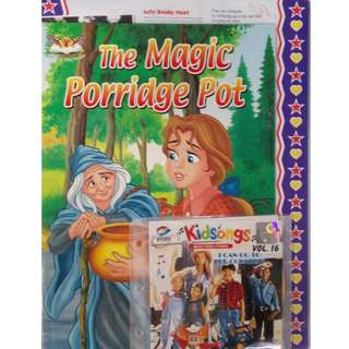 The Magic Porridge Pot + Kidsongs I Can Go To The Country Vol.16 VCD