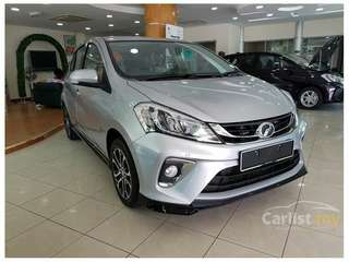Ready Stock! Ready to Deliver! New Perodua Myvi 1.3X Silver Available