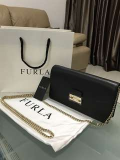 Authentic Furla W.O.C. Sling Bag