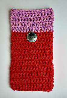 Crochet Phone Case (red)