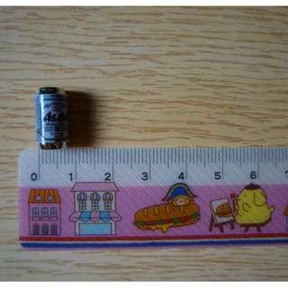 Dollhouse Miniature Dry Asahi Beer Can