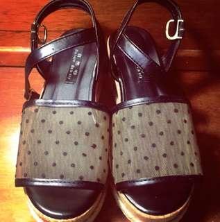 夏季甜美日系鬆糕涼鞋