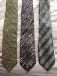 [包順豐站]Cour Carre silk ties (3 pcs)