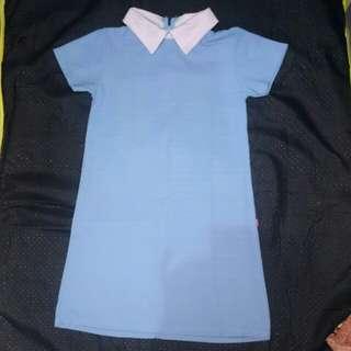 mini dress kerah