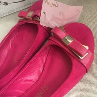 Monsoon Accessorize Angels Girls Shoes Size 8UK