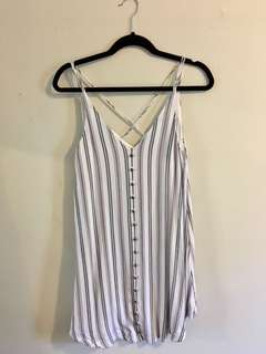 Gentle Fawn stripped button down dress