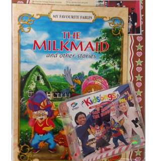 The Milkmaid And Other Stories + Kidsongs I Can Bop With The Biggles VCD