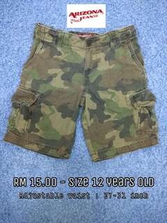 12 years old - Short Pants Boy Kids Cloth