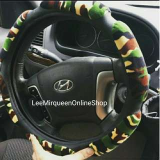 Camouflage Design Soft Steering Wheel Cover