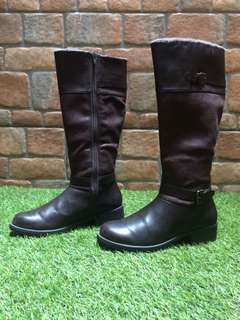 LEATHER BOOTS-MARK & SPENCER