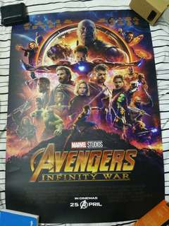 Marvel Avengers Infinity War Limited Edition Poster