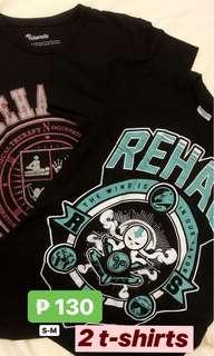 2 pcs. Black Shirts