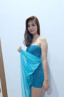Salsa blue dress