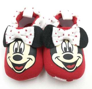 Baby Shoes Minnie Mouse