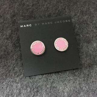 Marc by Marc Jacobs Earrings Pink/Gold 粉紅撞金色