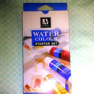 Art Nation Water Colour Starter Set (used once)