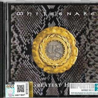 WHITESNAKE Greatest Hits Imported CD