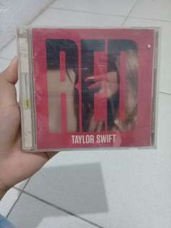 Red Taylor Swift Album with free posters