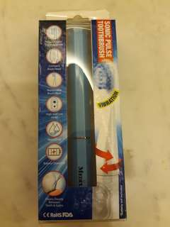 Sonic pulse toothbrush