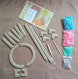 Knitting Loom Kit - Multiple/Flexi Shapes & Sizes