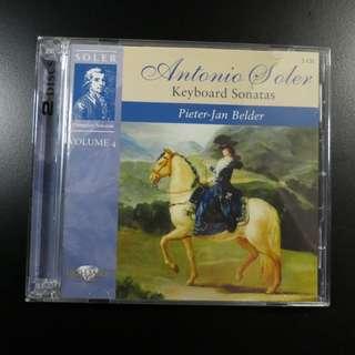 Antonio Soler: Keyboard Sonatas Vol 4 (Belder) (2 CDs)