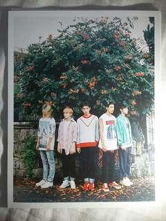 SEVENTEEN BOYS BE (HIDE VER.) POSTCARD