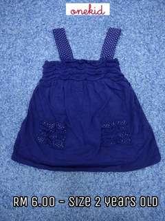 2 years old - Kids Cloth Shirt Dress Baby Girl Boy