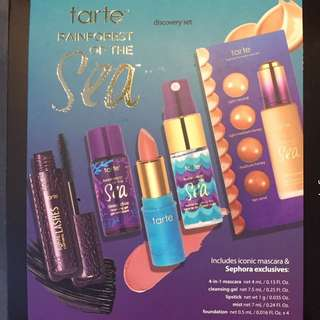 Tarte Rainforest of the Sea kit MINI SIZES BRAND NEW & AUTHENTIC (PRICE NOT NEGOTIABLE)
