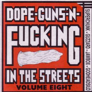 "Various ‎- Dope-Guns-'N-Fucking In The Streets Volume Eight - Light Purple 7"" VERY LIMITED"