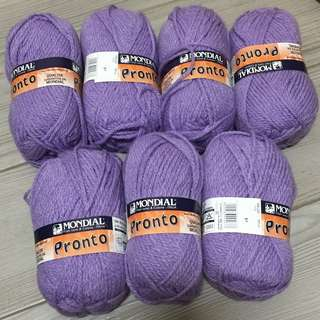 (買哂全部包順豐)全新粉紫色毛冷