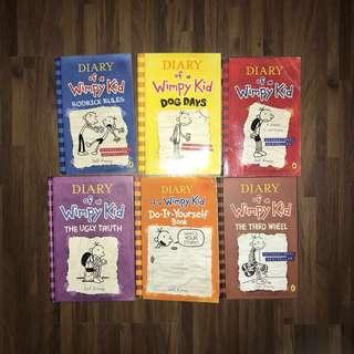 OBRAL Diary of wimpy kid 6 buku