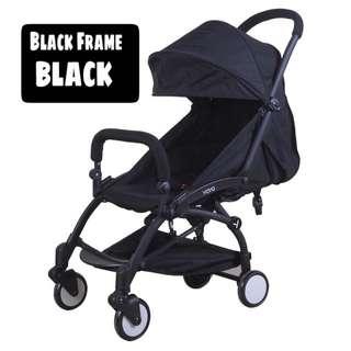 Yoya Stroller 2017 Upgraded Version (BLACK FRAME)