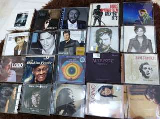 Various audiophile CD s