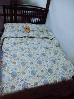 Double size Bed with 2 inches mattress